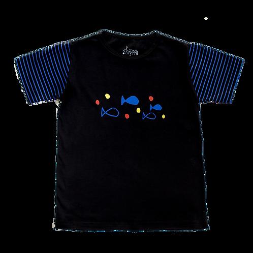 Camiseta Peixes - Infantil