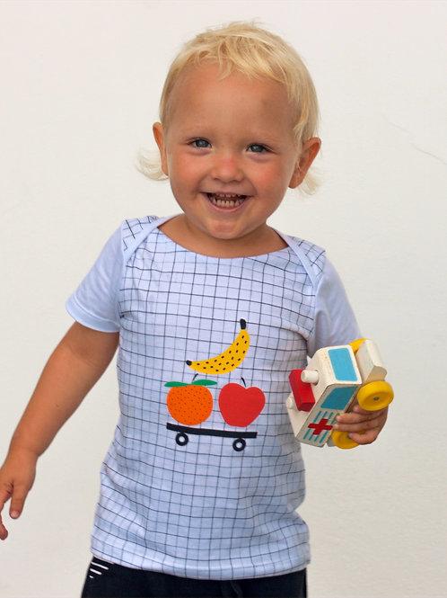 Camiseta Frutas no Rolê - Bebê