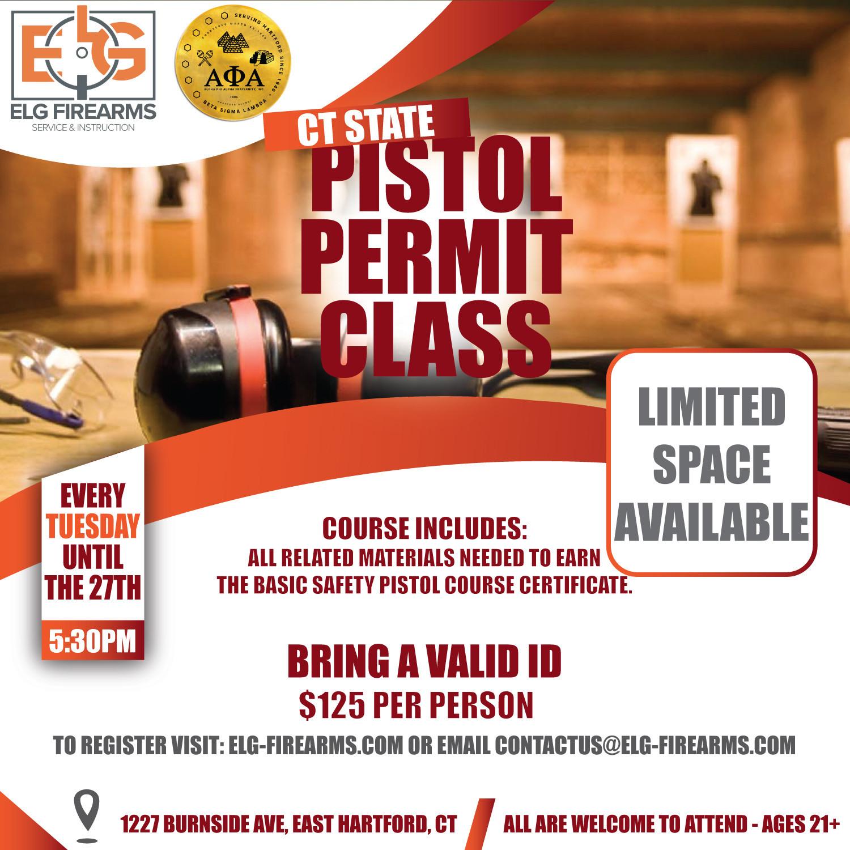 Basic Safety Pistol Course