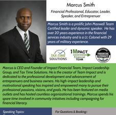Speaker - Mr. Marcus Smith bio