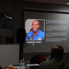 Speaker- Mr. Damon Hart's bio