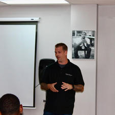 Mr. Saxton presenting