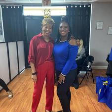 Lois & Cindy - Volunteers