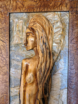 Carved wood art 3