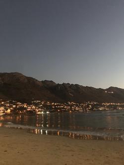 Gordons Bay in the evening