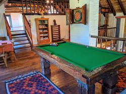 The Haveli pool table
