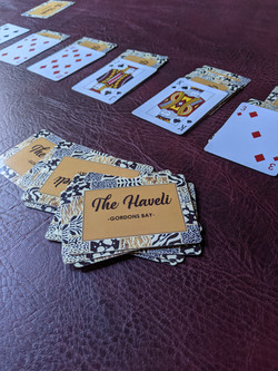 The Haveli playing cards