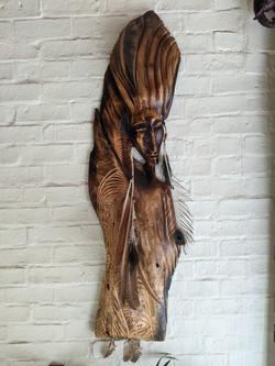 Carved wood art 2