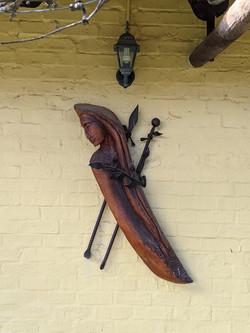 Carved wood art 1