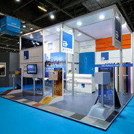 An exhibition stand