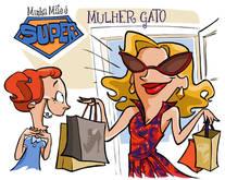 """desenho """"MULHER GATO"""""""