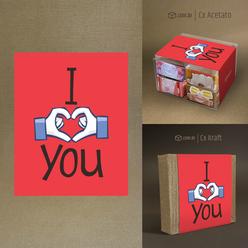 """desenho """"I LOVE YOU"""""""