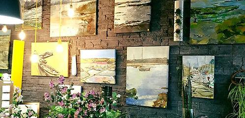 Exposition peinture L'Atelier De Brice