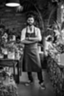 Brice Nicoleau Gérant de la société L'Atelier De Brice | Fleuriste