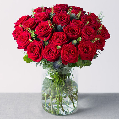 Bouquets de roses rouges