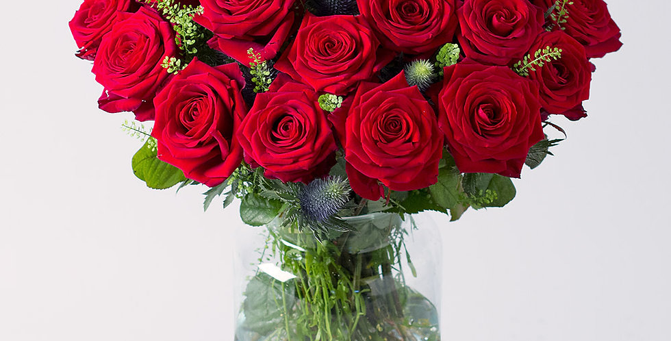 Bouquets de roses rouges