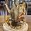 Thumbnail: Cloche fleurie tons naturels