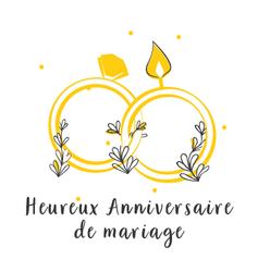 Heureux Anniversaire de mariage