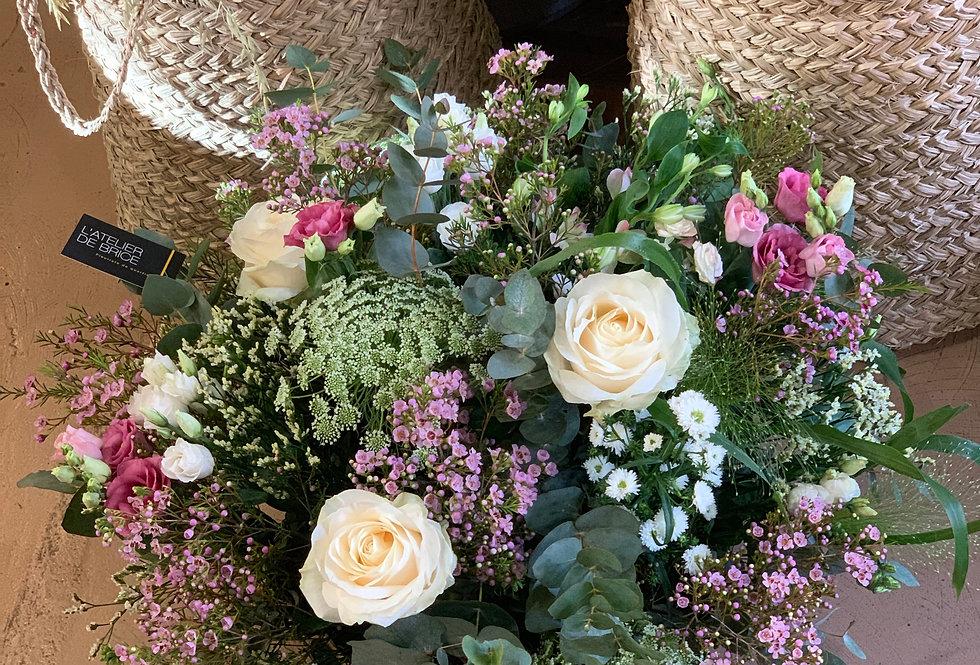 Bouquet de fleurs enterrement Nantes