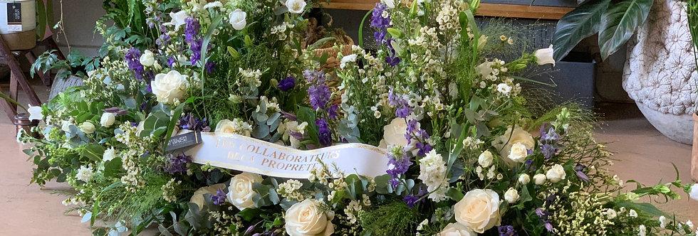 Fleuriste enterrement Nantes