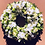 Couronne de fleurs enterrement Nantes