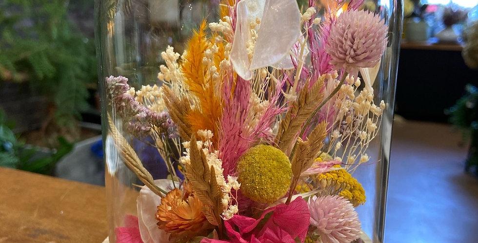 Cloche fleurie