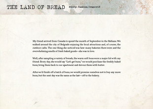 The Land of Bread