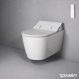 Duravit ME by Starck Wall Mounted WC Bowl with Sensowash Slim
