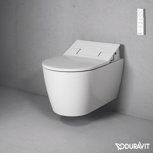 Duravit ME by Starck Wall Mounted WC Bowl with Sensowash Slim