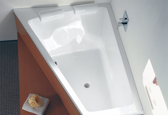 Duravit Paiova Freestanding Corner Left Bathtub 700268