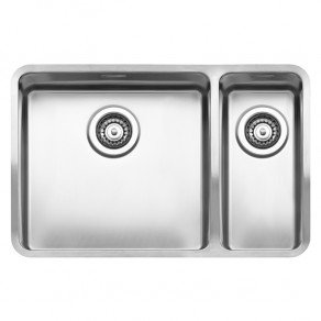 Reginox Ohio Double Bowl Kitchen Sink L40x40+18x40