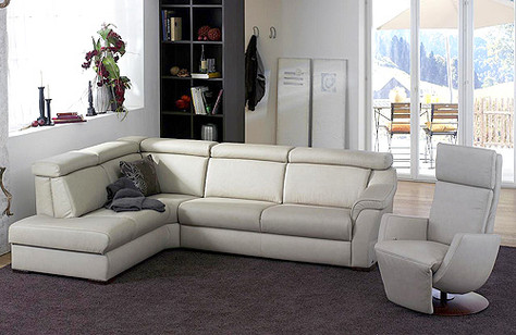 Himolla Sofa Suite model 1950 from the Planapoly 3 collection