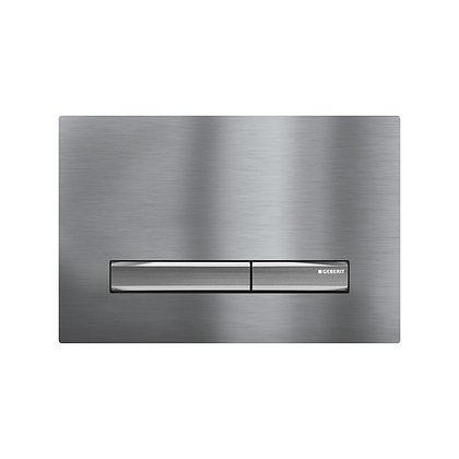 Geberit Sigma 50 Dual Flush Push Plate - Brushed