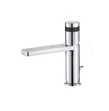 Crestial Line Single Lever Basin Mixer w/ Pop Up Waste - C36103CK