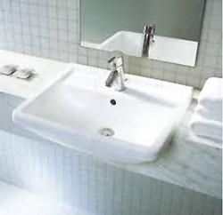 Duravit Starck 3 semi-recessed basin
