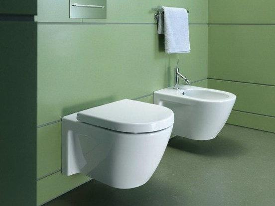 Duravit Starck 2 Wall Mounted Toilet 253309