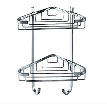 Crestial Essentials Corner Shower Basket - A05351