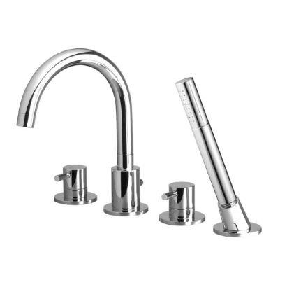 Crestial Eins+ 4-hole Bath Mixer - C20501