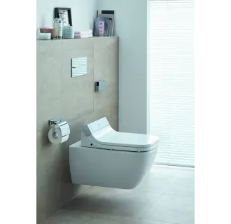 Duravit Happy d.2 Wall Mounted Toilet w/ Rimless Flush 255059