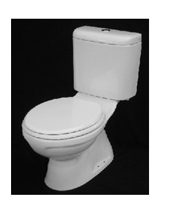 Vera Closed Coupled WC w/ PP Soft Close Seat Cover C.001