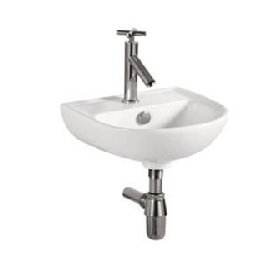 Vera Wall Mounted Basin D.1000 (35x30.5cm)
