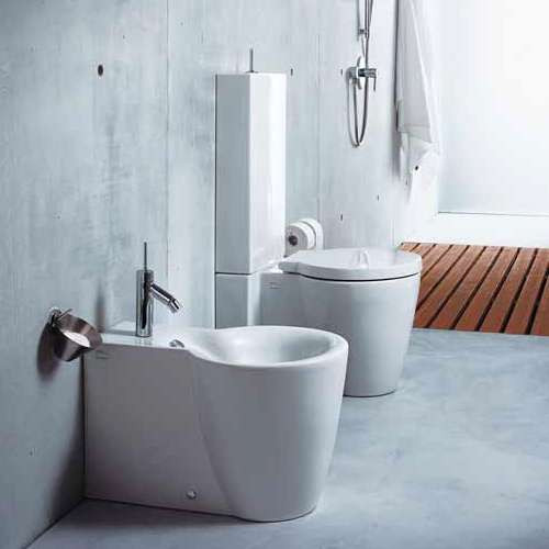 Duravit Starck 1 Floor Standing WC and Bidet