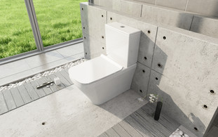 Duravit Durastyle Closed Coupled WC Bowl