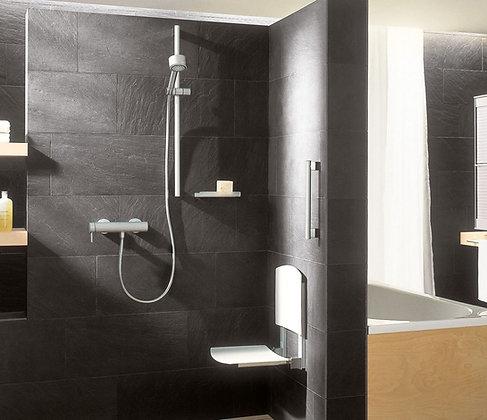 Keuco Plan Care Wall Mounted Flip Up Shower Seat 34982