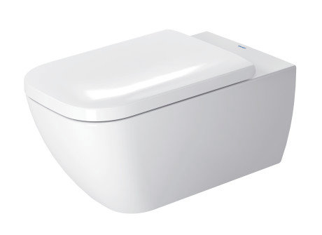 Duravit Happy d.2 Wall Mounted Toilet w/ Rimless Flush 255009