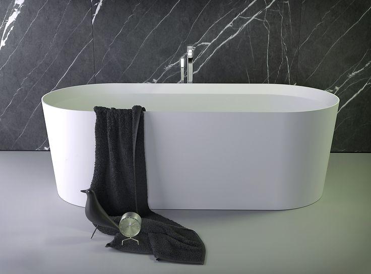Knief K-Stone Pearl Freestanding Tub