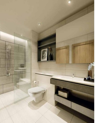 Trilive Condo Bathrooms