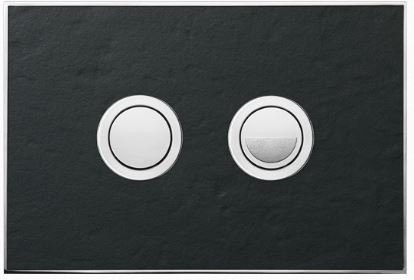Valsir Dual Flush Push Plate for Winner S - Stone Slate