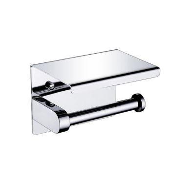 Crestial Essentials Single Paper Holder w/ Shelf- A06351