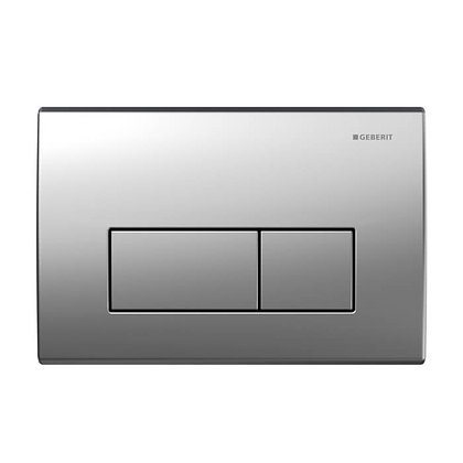 Geberit Kappa 50 Dual Flush Push Plate - SS Brushed